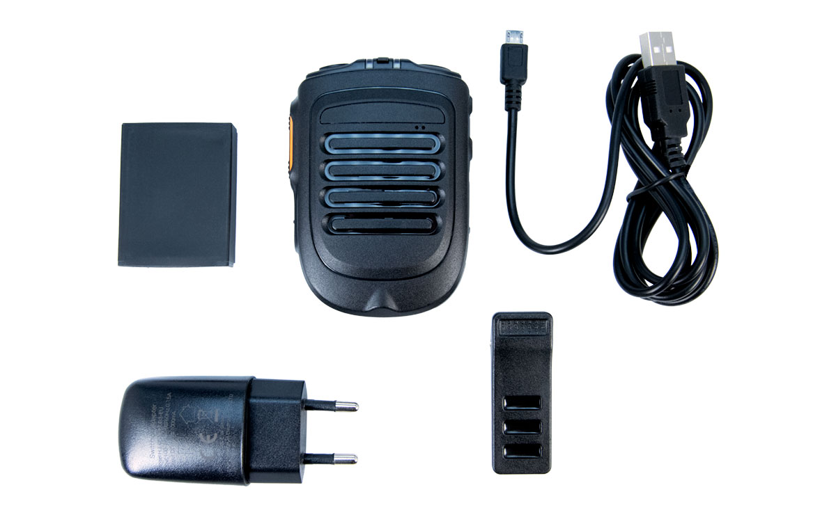 INRICOB01 Bluetooth PTT-Microfono Inalambrico