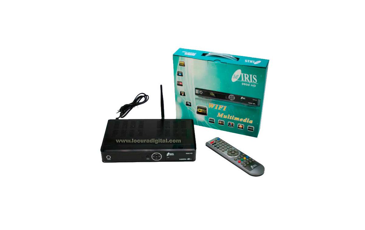 IRIS9600HD IRIS Receptor satélite IRIS 9600HD + WIFI. Alta definición HD