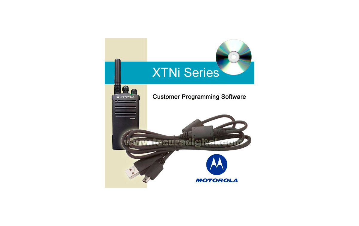 IXEN4007AR Software y cable USB de programación