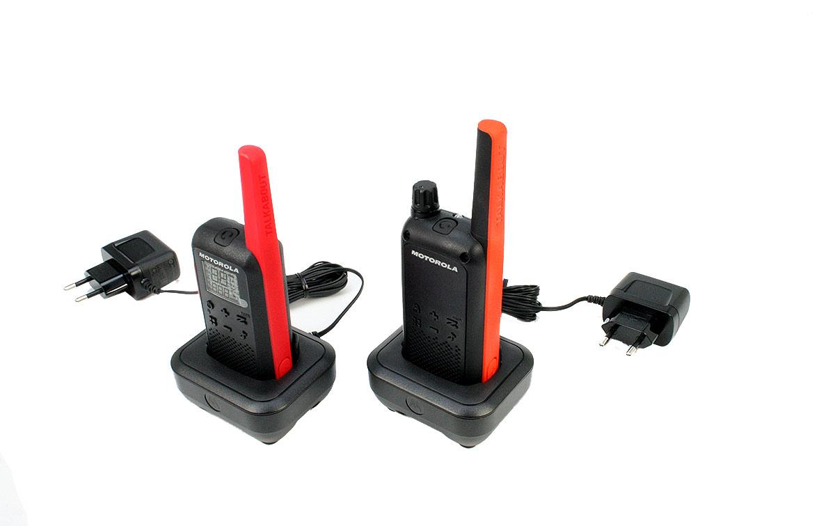 Motorola IXPN4039 Cargador unitario pack 2unidades valido para Walkie talkiesTLKRT62/82/82EXTREME/92