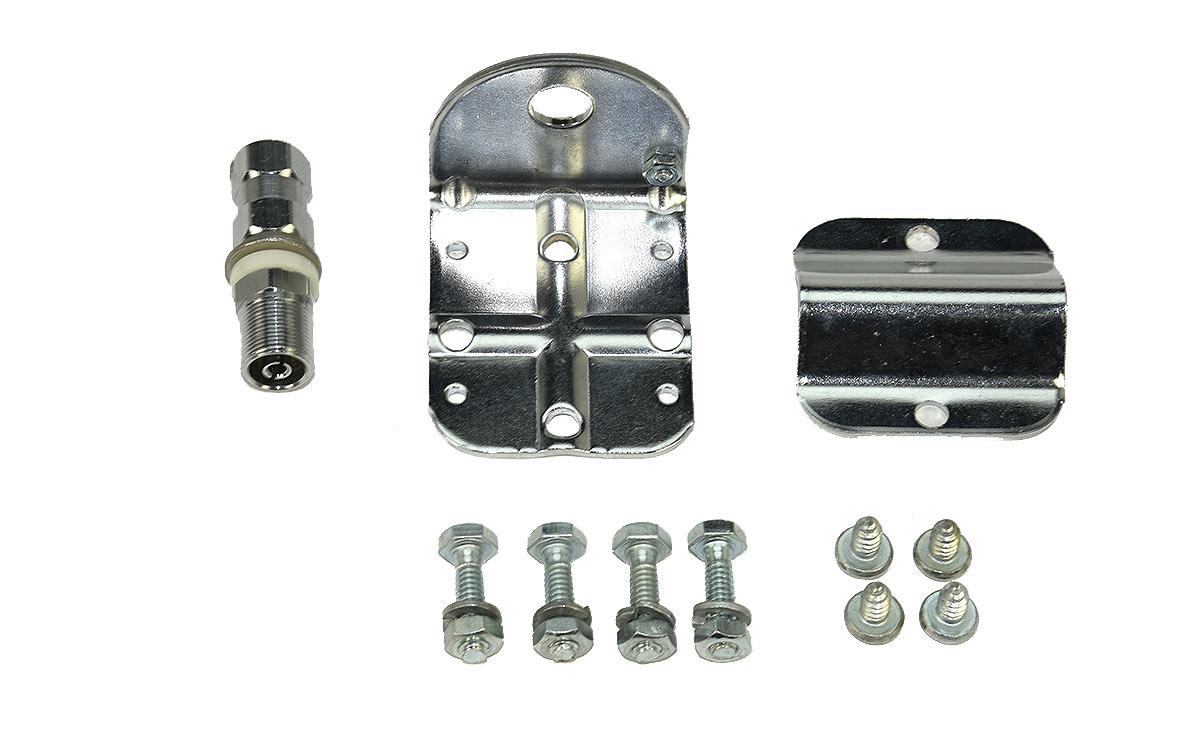 K64A FIRESTIK K-64A Base retrovisor para antenas conector 3/8, soporte para espejo retrovisor valido para posicion vertical y horinzontal.