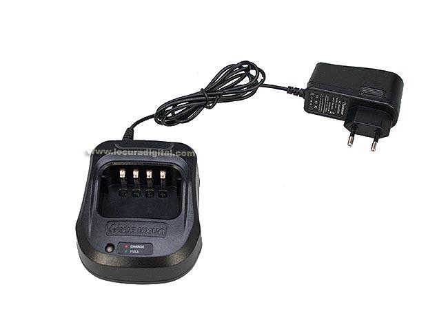 WOUXUN KGUV8DCAR Cargador de Bateria para BLO-010 / BLO-008 / BLO-009 y Walkies KGUV8D / KGUV9D