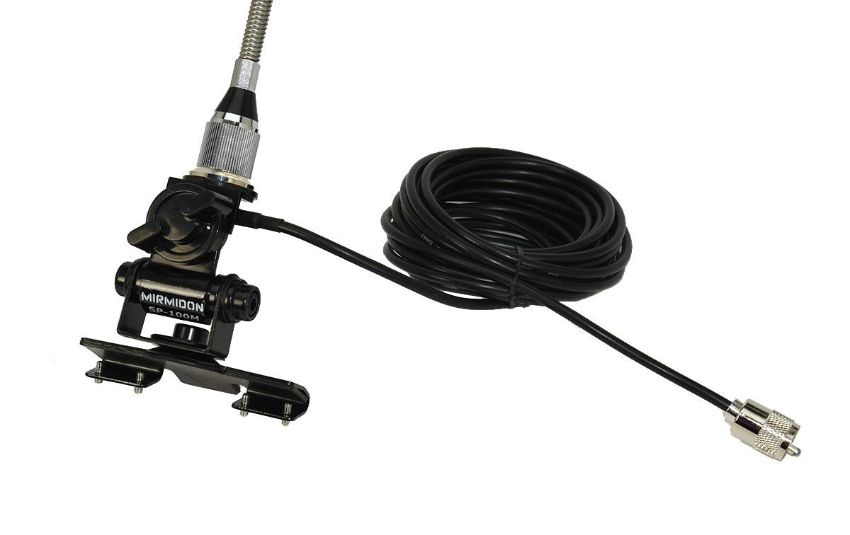 kilo50vkit2 antena vhf 136-174 mhz + soporte sp100 + cable ba55m