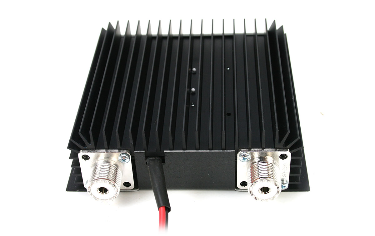 rm kl200p amplificador lineal 25-30 mhz con previo de recepción
