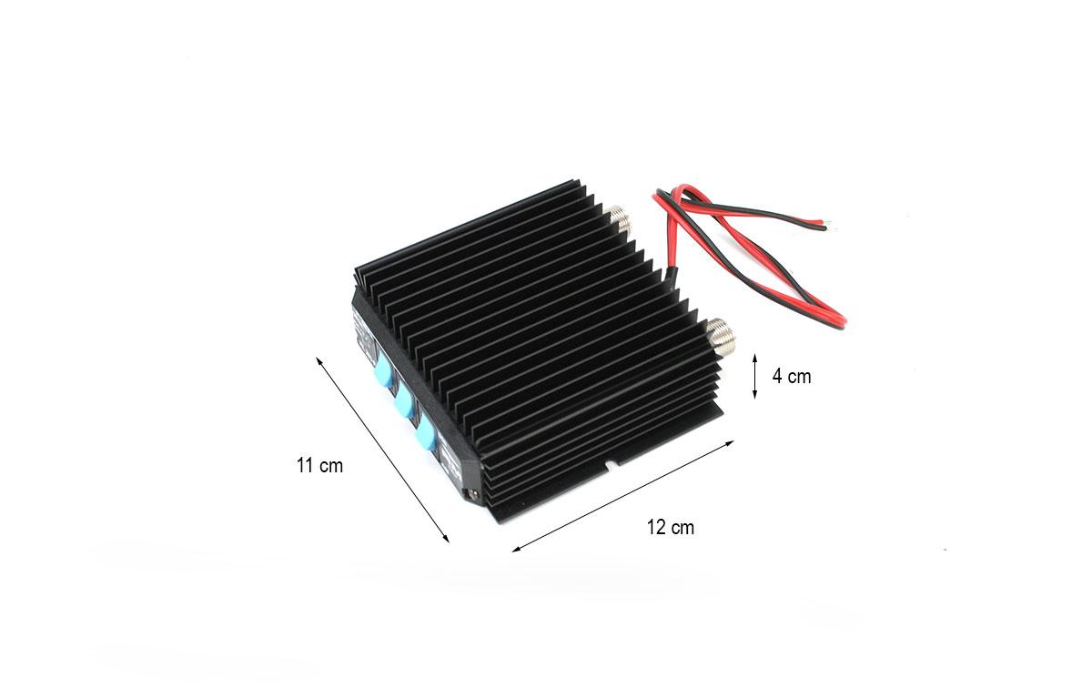 RM KL-203P amplificador lineal de 12 V de banda ciudadana CB-27