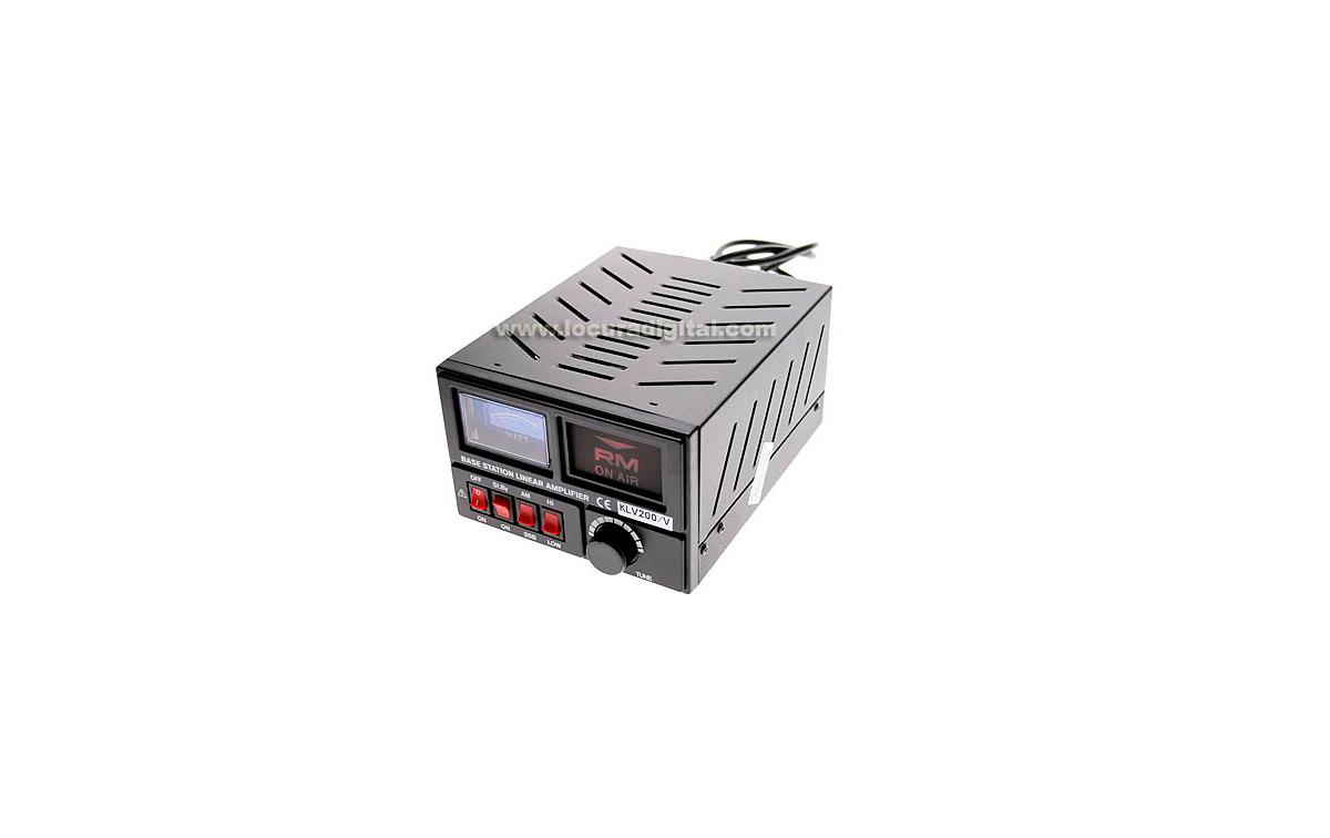 KLV200V RM Amplificador HF 1 valvula 100 wats 26-30 Mhz