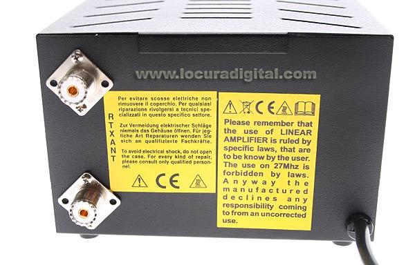 KLV200V RM Amplifier HF a valve 100 watts 26-30 Mhz