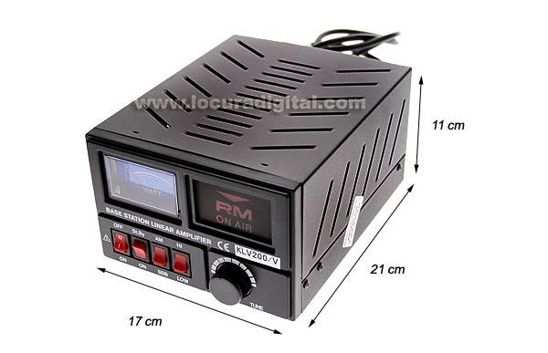 HF Amplifier RM KLV200V a valve 100 watts 26-30 Mhz