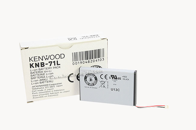 KNB71L KENWOOD bateria original walkie PKT-23. LITIO 1430 mAh.