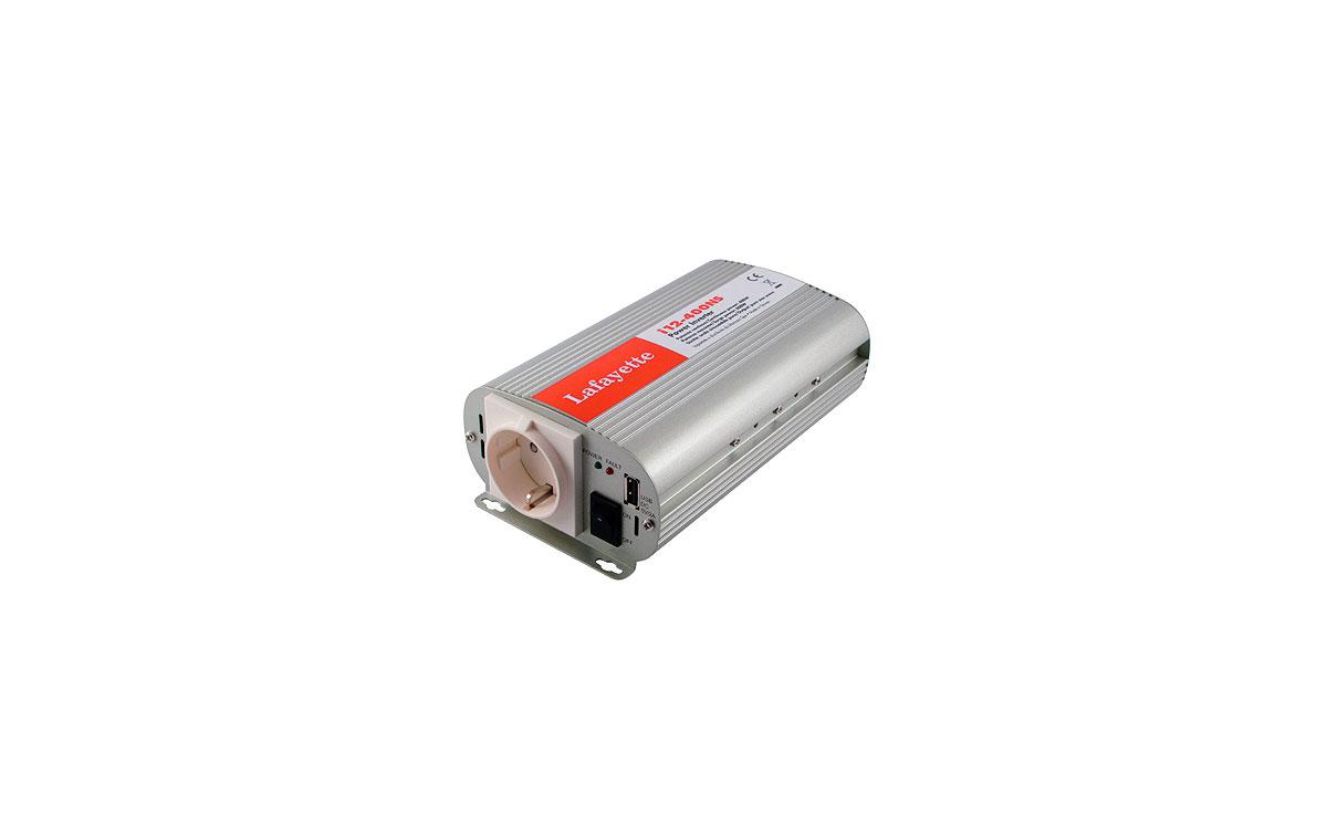 LAFI-24400NS LAFAYETTE Inversor  Onda Senoidal Pura 24 volts - 220 volts. 400 wats