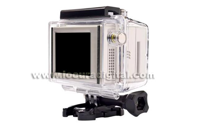GoPro BAC PAC-screen LCD Rear.