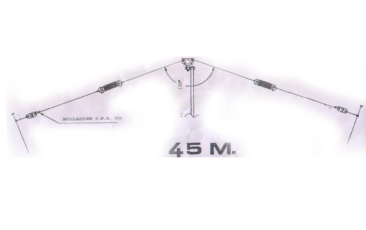LEMM AT-44 Antena Dipolo de hilo 7 Mhz Banda de 40 metros