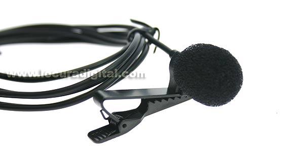LAFAYETTE microfone de lapela para o sistema LM71A TGS-80T GUIA