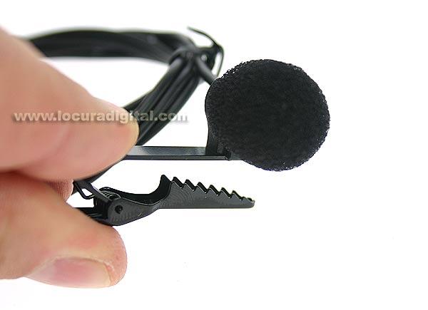 LM71A LAFAYETTE microfono de solapa para sistema GUIA TGS-80T