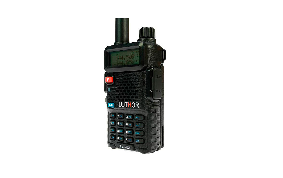 Talkies-walkies Luthor MONO TL-22 BANDA VHF 144 MHz,