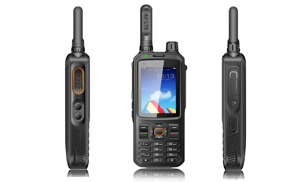 LUTHOR TL-4G8 Walkie uso libre 4G LTE Android/WiFi zello