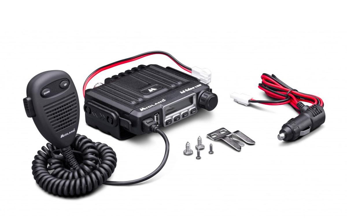 Midland M-Mini USB Emisora Transceptor CB AM/FM 40 canales