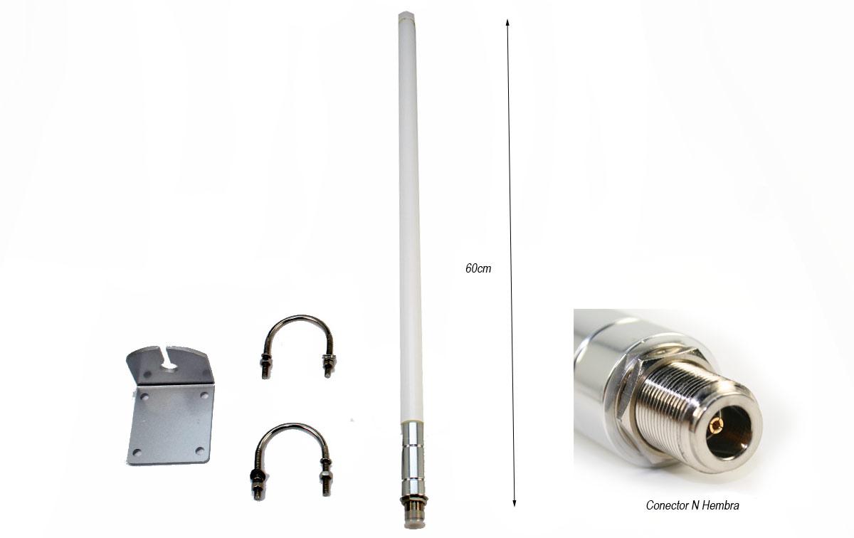 maas l-30 antena base lte 4g - umts 3g - wlan. de 698 a 2700 mhz.