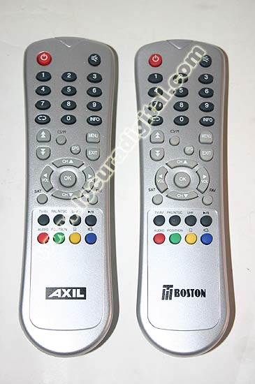 AXILAD600 ORIGINAL AXIL Remote Control for AD 600 and TBOSTON 4500. For the CLASIC and NEW USALS software versions.