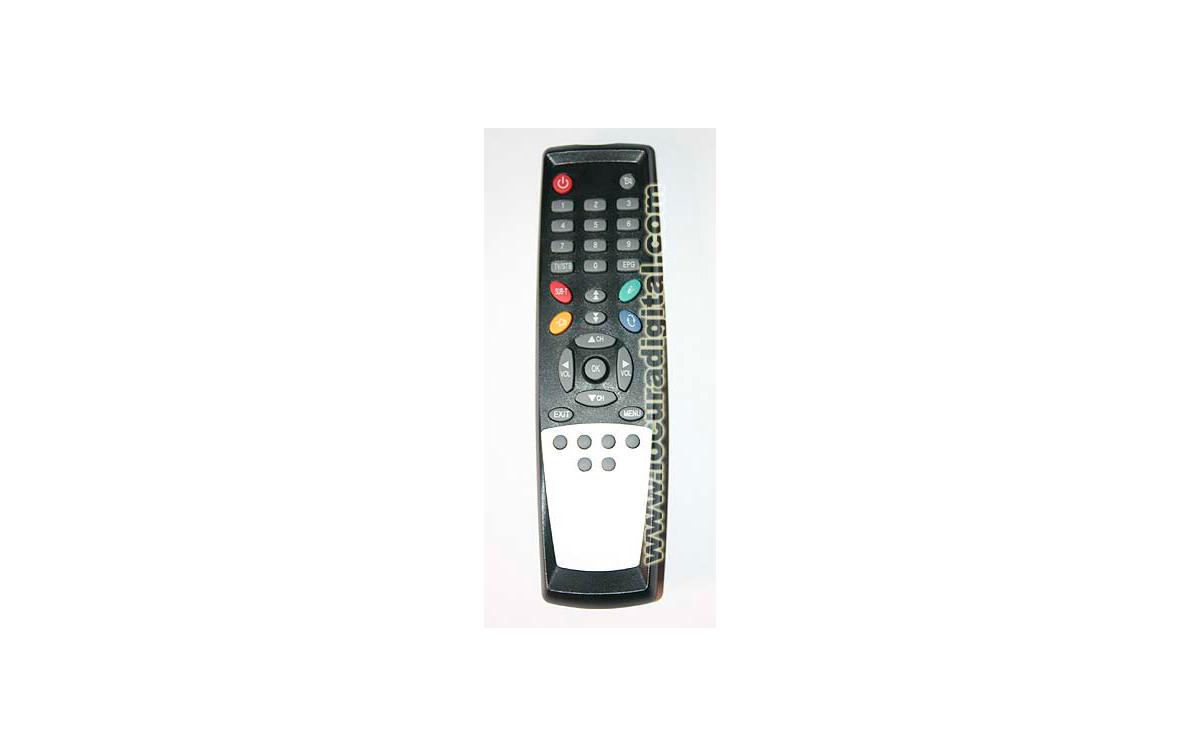 MANDO PARA RECEPTOR  MIRAGE / DIGITALL WORLD SCI 4100 - SCI 4000 y SFT 1010E