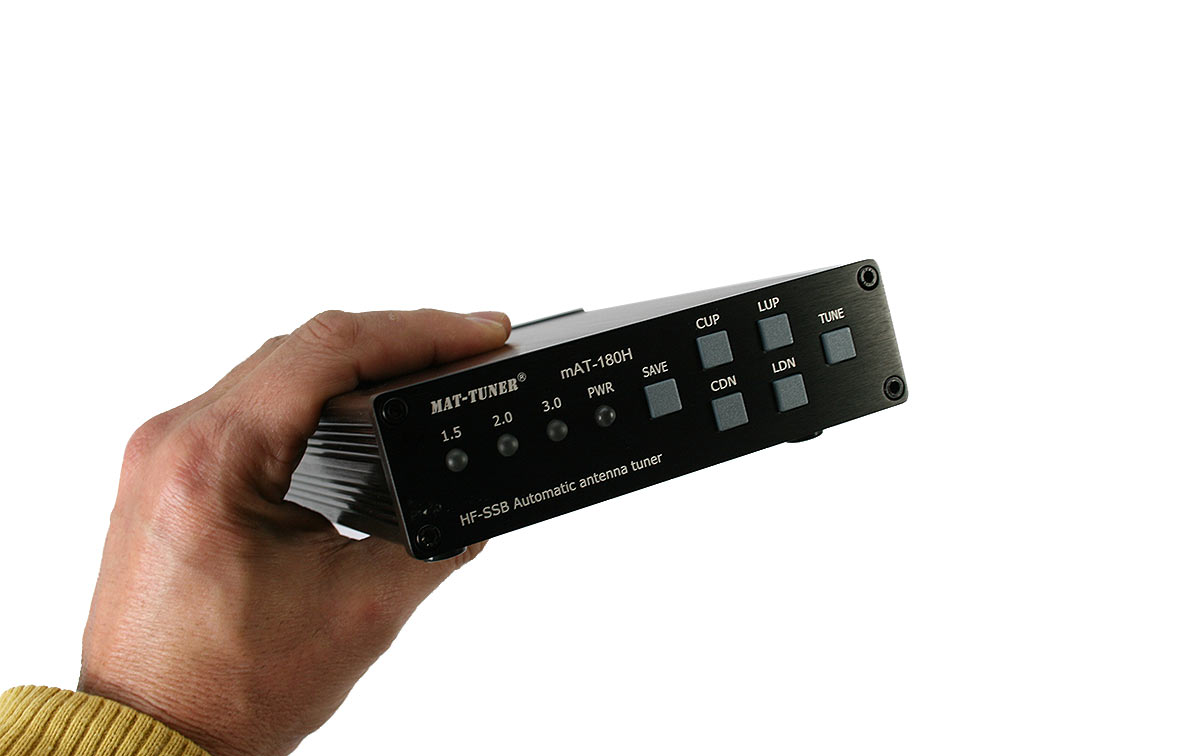 mat-180-h kenwood /icom sintonizador automático hf1,8-54 mhz120 watios