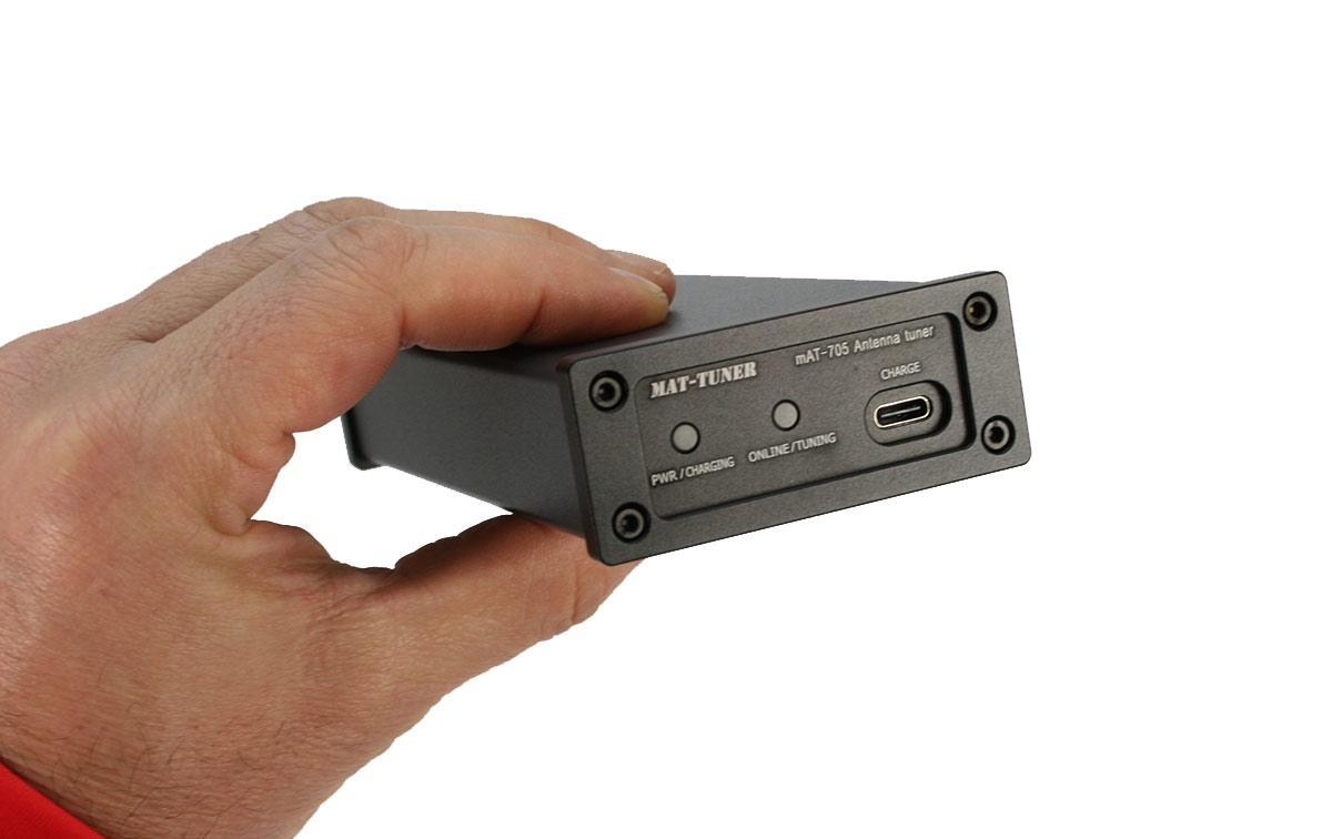 mat-705 plus sintonizador automático hf de 1,8 a 54 mhz. para icom ic-705