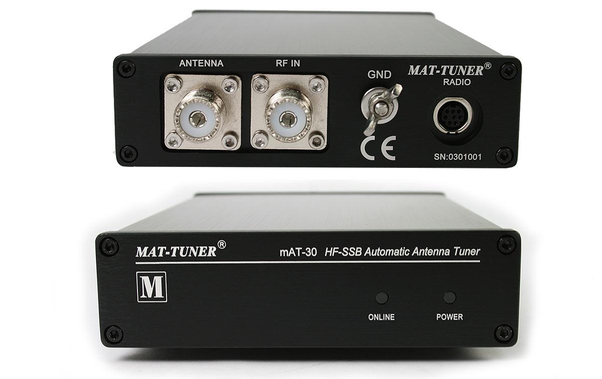 mat-30-yaesu sintonizador automático exterior hf 1,6-54 mhz 120 watios