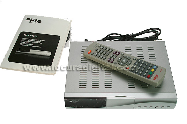 FTE MAXS102E satellite receiver for free channels of high performance.