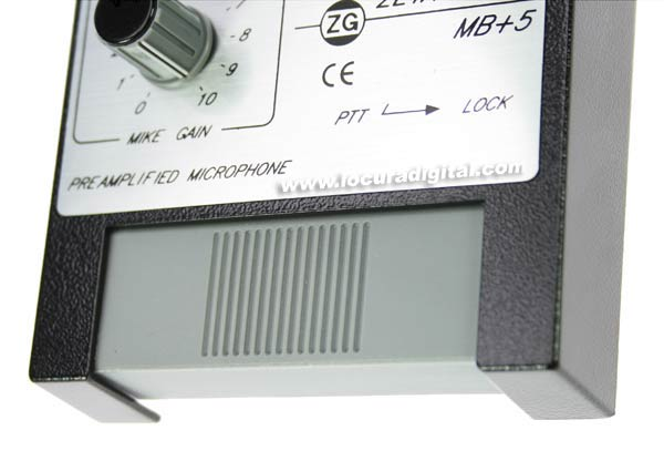 ZETAGI microfone desktop MBPLUS5