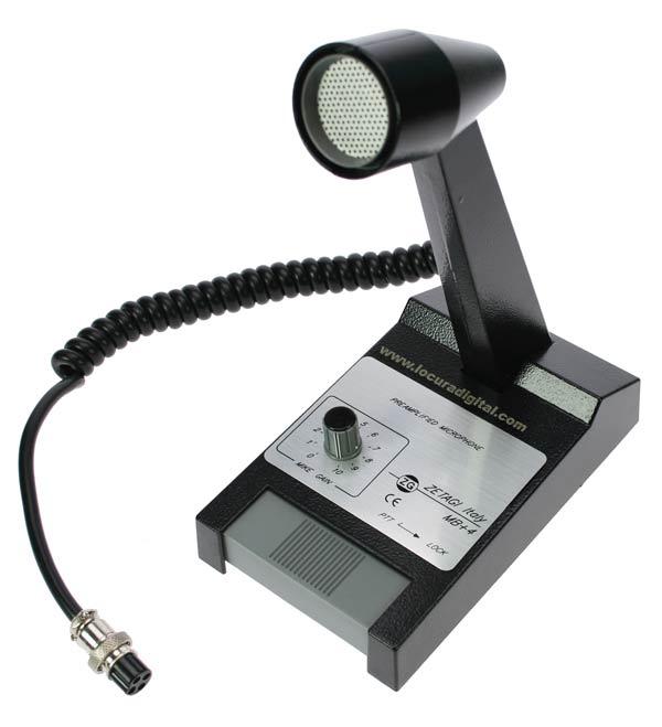 MBPLUS4 microfone desktop ZETAGI