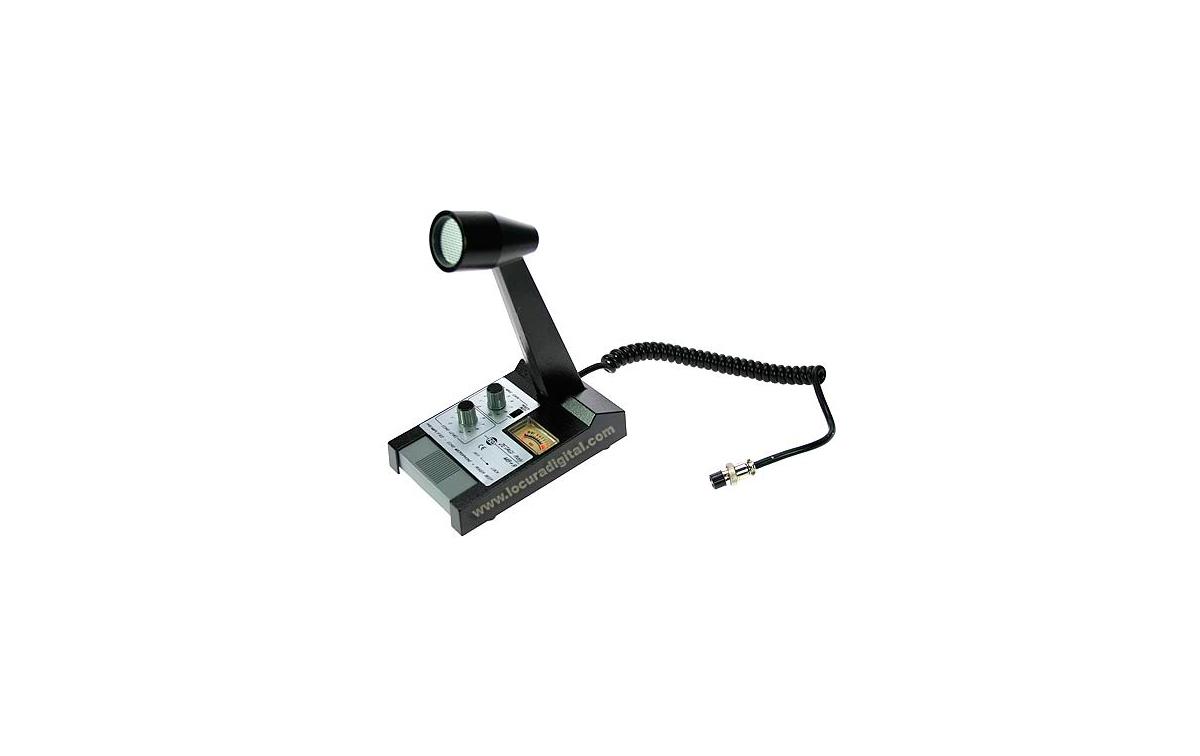 MB PLUS 9A6  ZETAGI microfono de sobremesa valido para Emisoras PRESIDENT, ALAN48, ALAN 78, AES5800,