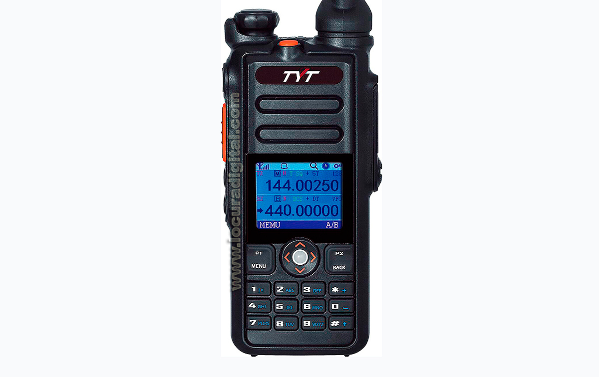 TYT MD-2017 Dualband analogic and digital DMR handheld