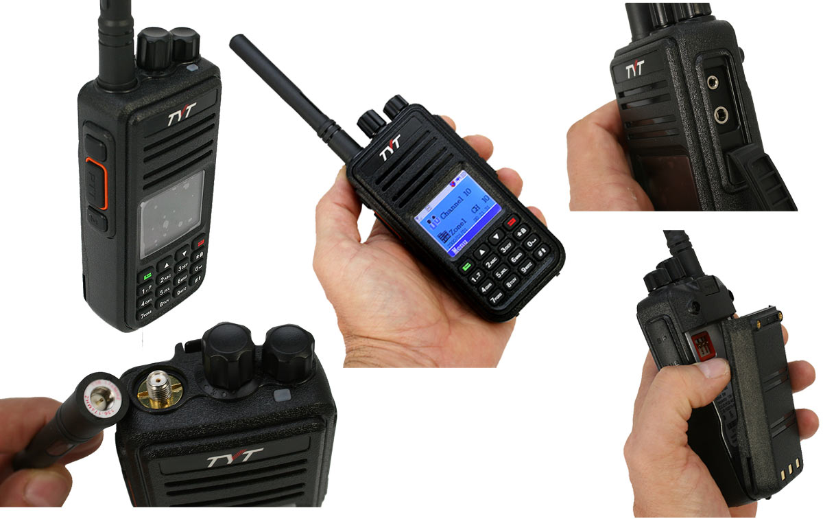 TYT-MD-390-UHF IP67 Walkie Profesional DMR DIGITAL-Analógico UHF 410-470 Mhz-Proteccion IP67 Waterproof