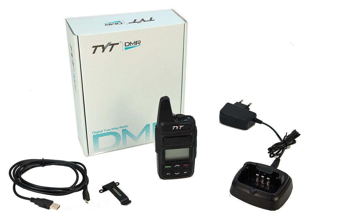 TYT MD-430 Walkie Talkie DMR, VHF/UHF Analogico y Digital 410/470Mhz