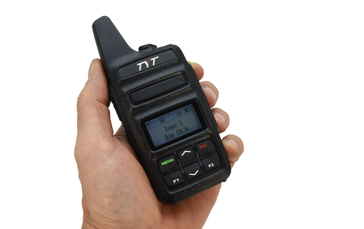 TYT MD-430 Walkie Talkie DMR, VHF/UHF Analogico y Digital 144/ 430Mhz