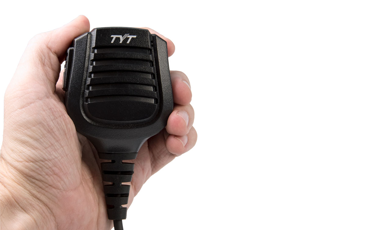 MD-MIA2017 MICRO-ALTAVOZ normativa IP57 para TYT MD-2017