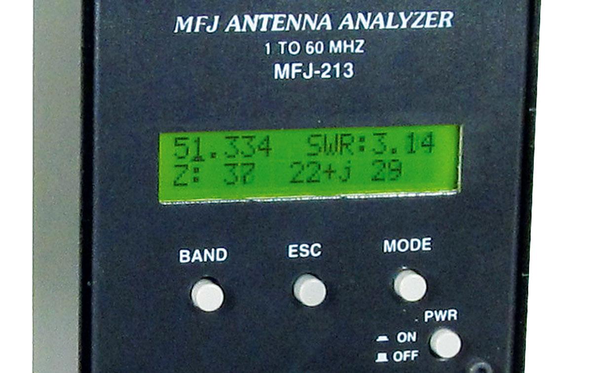 MFJ MFJ-213 Antenna analyzer