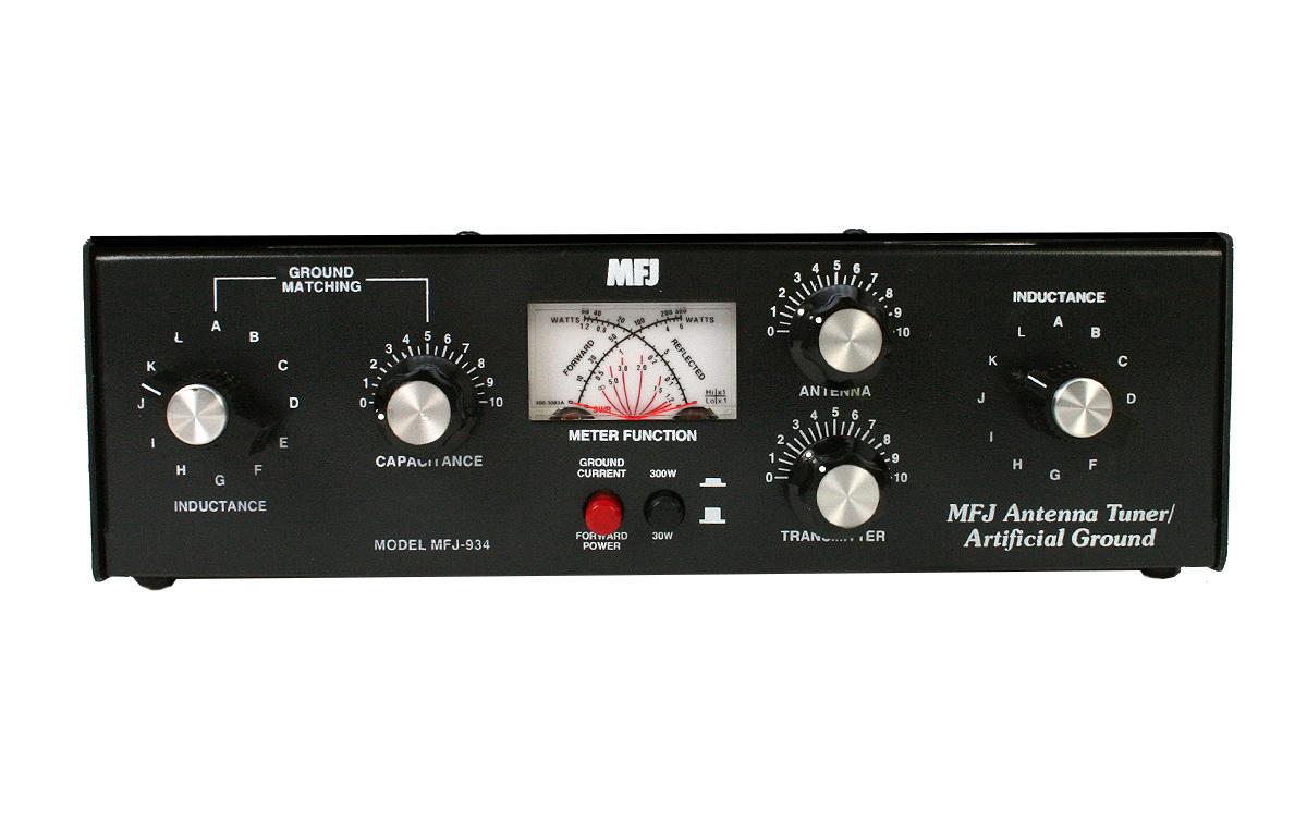 MFJ934 Acoplador tierra artificial HF1,8 -30 MHz