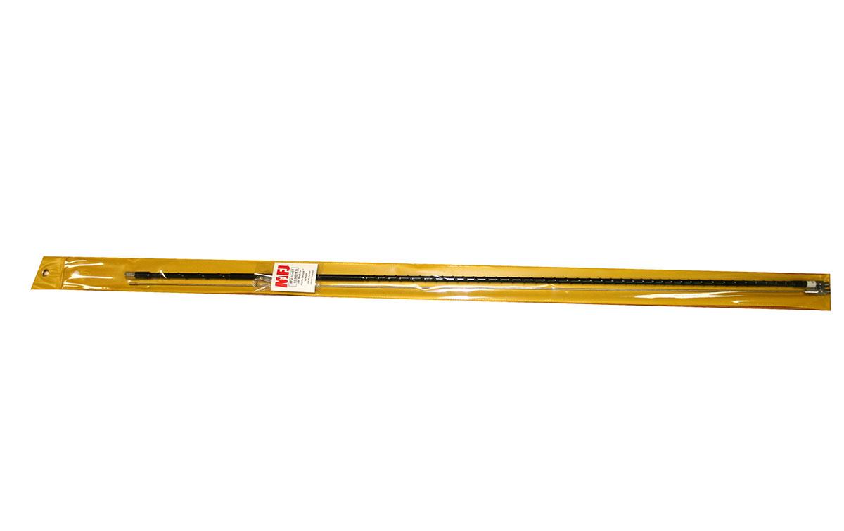 mfj 1640t antena movil para hf 40mts potencia maxima 250 watios, longitud 2,13 mts, antena fibra de vidreo con rosca 3/8