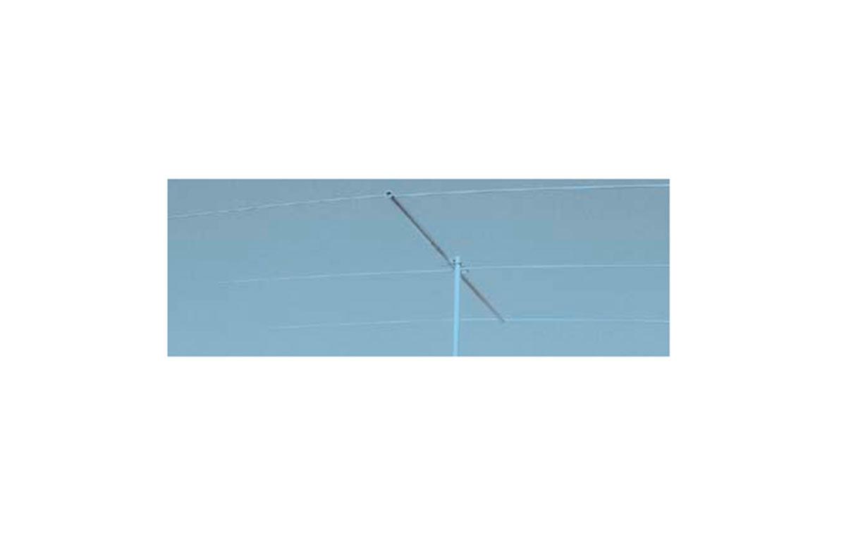 MFJ-1762 MFJ Antena Directiva 3 elementos para la banda de 6 m 50 Mhz Se puede montar en vertical u horizontalmente. La antena cuadruplica su potencia radiada efectiva sobre dipolo de 1/2 onda.