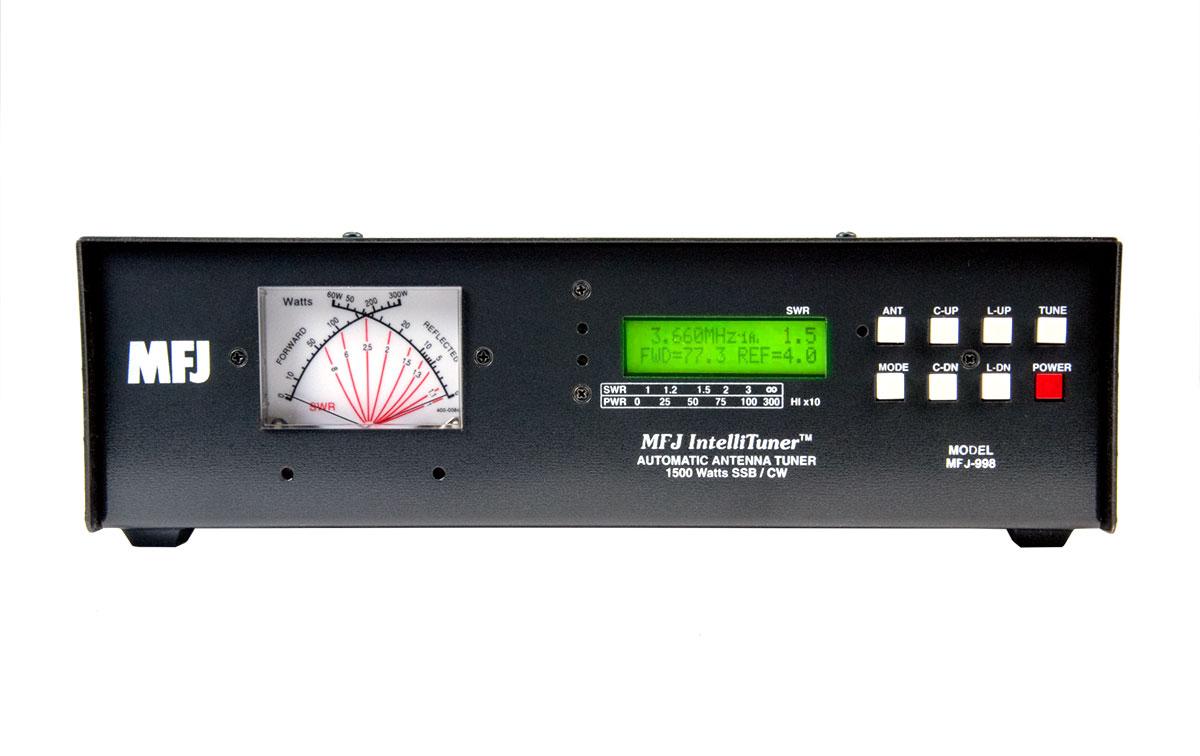 MFJ998 MFJ acoplador automatico 1.5KW, 1.8-30 MHZ