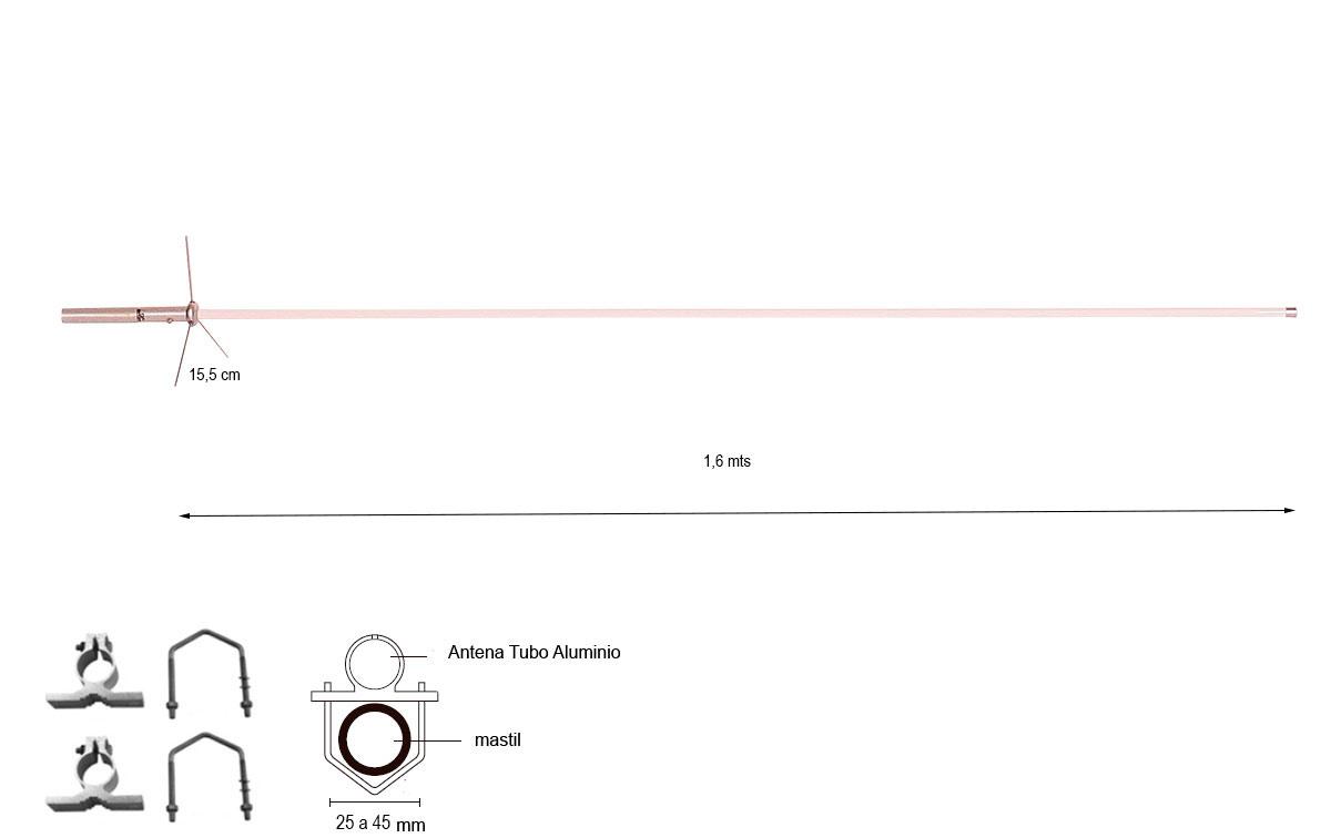 las antenas mfj pulsar de banda ancha y rendimiento de alta ganancia ofrecen un rendimiento de banda ancha y alta ganancia en todas las bandas para un funcionamiento superior del repetidor y la estación base. transmitirá una señal potente y recibirá con claridad estaciones débiles y distantes.