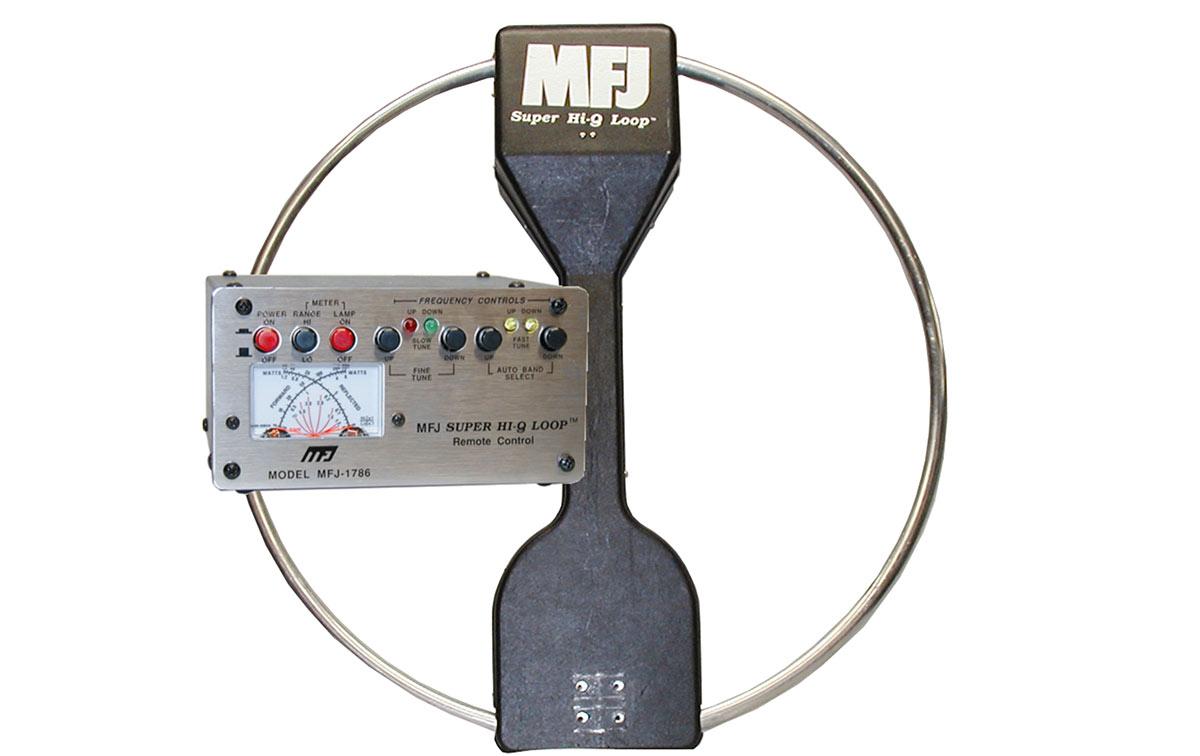 MFJ1786X MFJ Emision y recepcion Super Hi-Q Loop 10 -30 Mhz