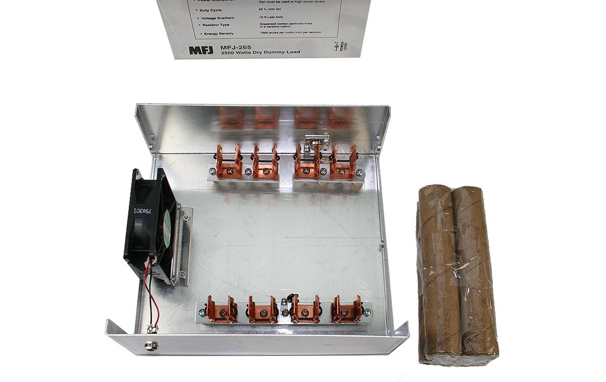 MFJ265 MFJ carga ficticia 1-- 60 MHz potencia maxima 2,5KW