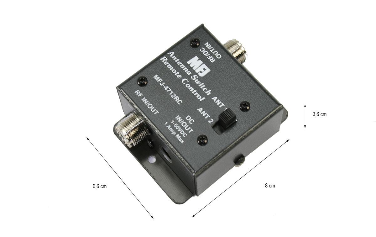 MFJ4712 Conmutador remoto para 2 antenas.