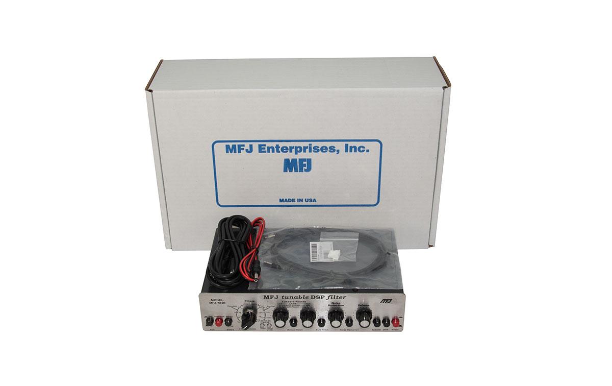 MFJ 784B Filtro de Audio DSP sintonizable15 filtros preajustados