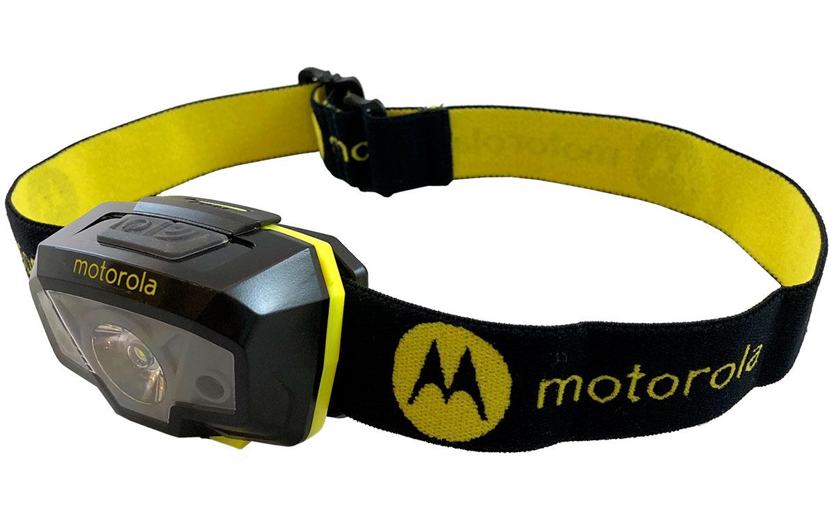 MOTOROLA MHL 240 Linterna frontal 240 lumens color negro y amarillo