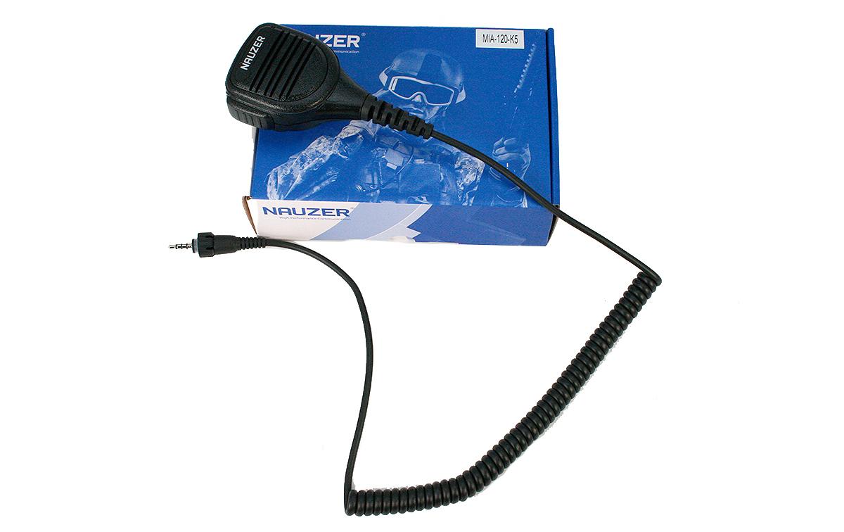mia120k5 nauzer micro altavoz profesional tk3601 kenwood