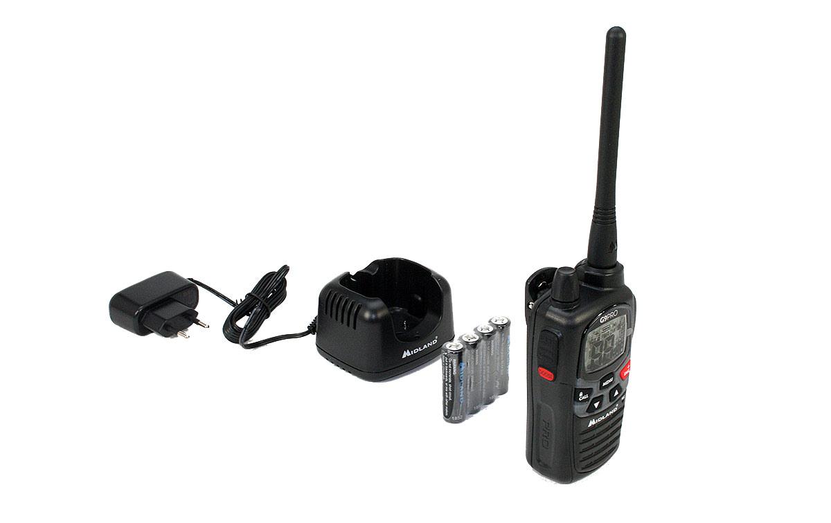 MIDLAND G9-PRO-KIT1 walkie uso libre PMR 446 + Pinganillo PIN19S
