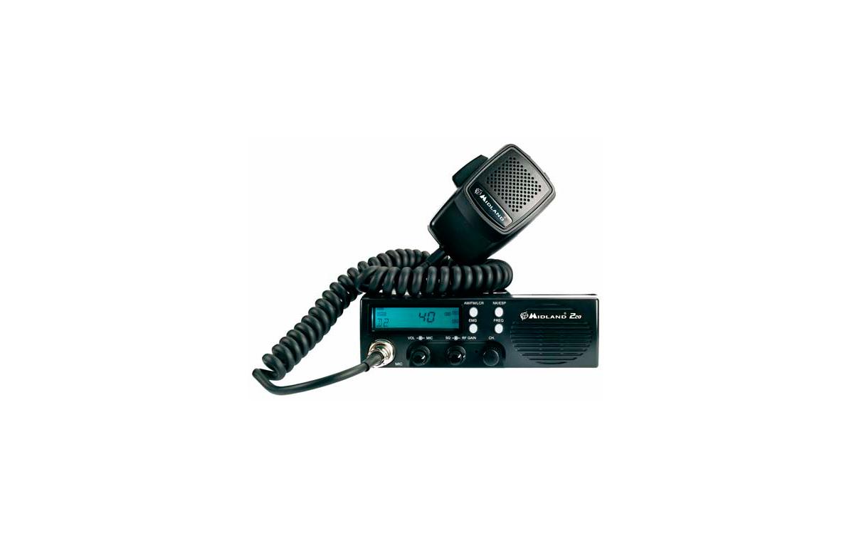 Emisora CB 27 Mhz. AM/FM. MIDLAND 220